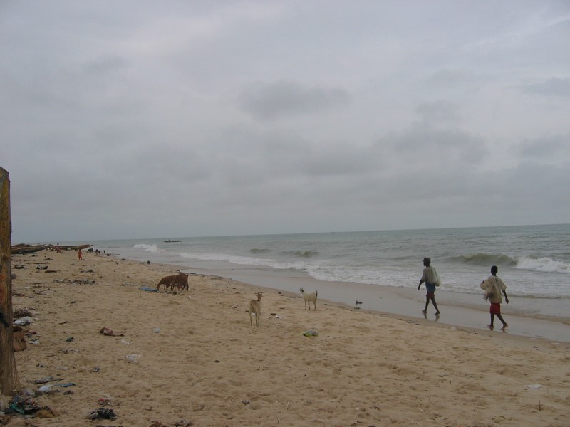 Plage de Saint Louis du Sénégal