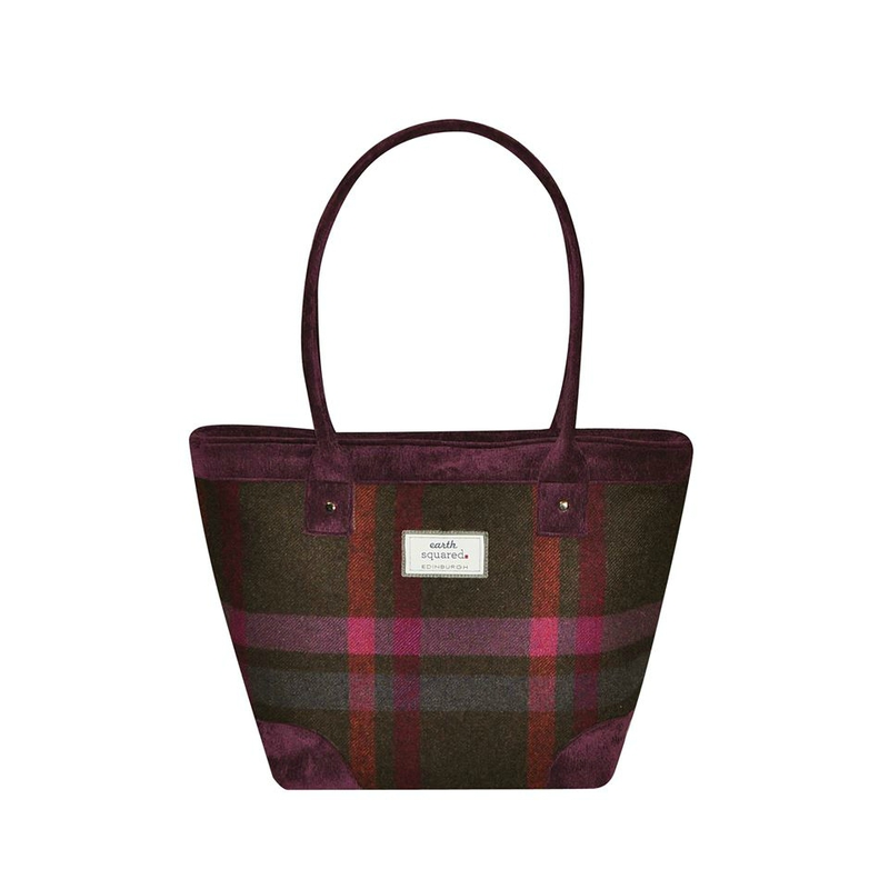 tote bag col mulberry
