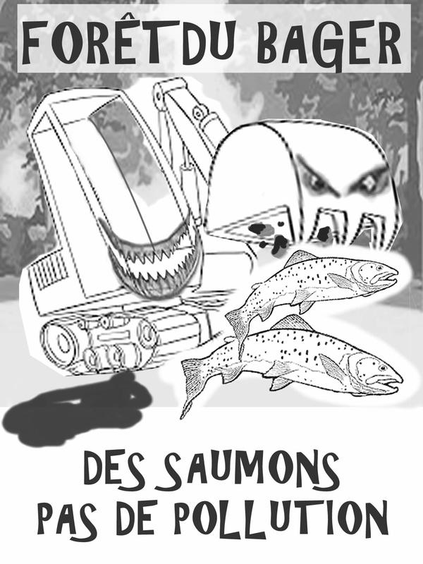 Pelleteuse monstre saumon