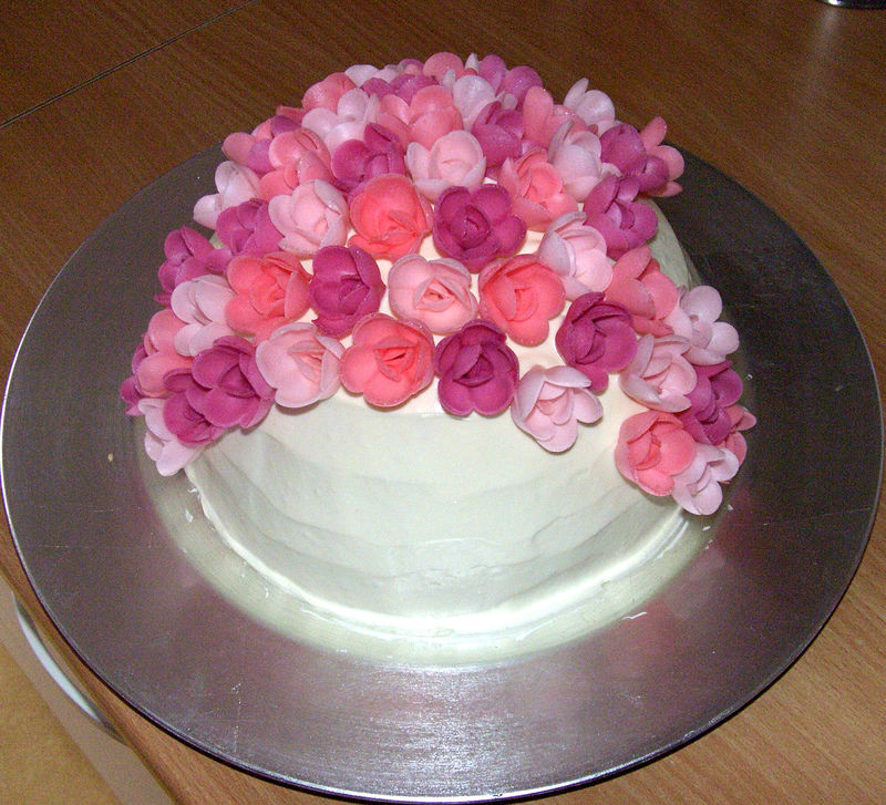 Gateau Fleurs Pat Pam And Co