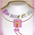 En rose et or