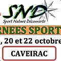 Journées sportives d'octobre 2020