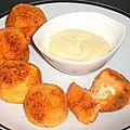 Croquettes de pommes de terre et de patates douces au fromage