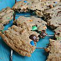 <b>Cookies</b> géant aux M&Ms