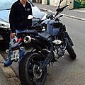 Yossi et la passion de la moto