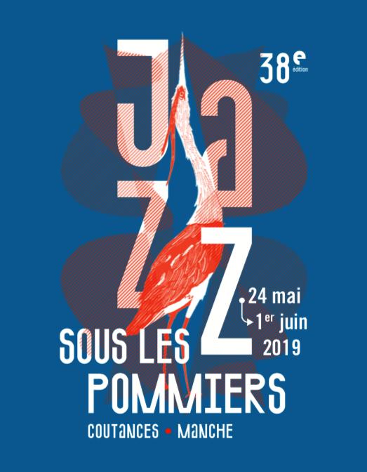 jazz sous les pommiers_festival_2019_Coutances_38_édition_visuel_affiche_l'atelier du bourg