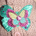 broche Mini papillon