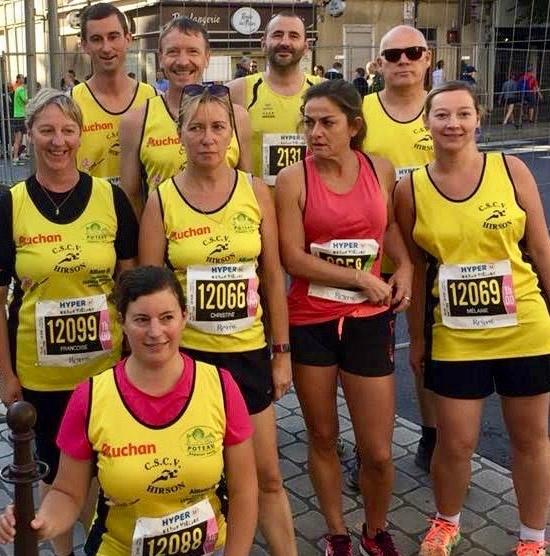 CSCVH RUN IN REIMS 2017 10 Km