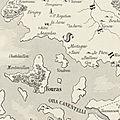 Géographie du golfe du castrum alionis devenu la cité engloutie de châtel-aillon