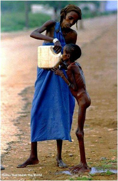 enfant soif
