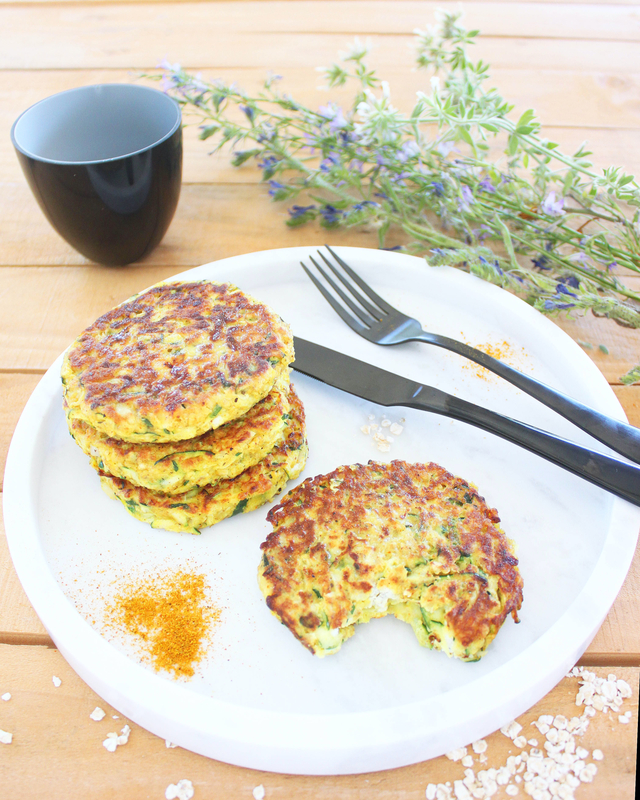 Galettes Courgettes 1