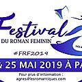 Toutes les infos sur le festival du roman féminin 2019