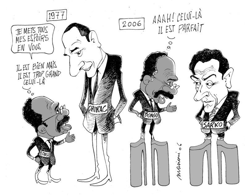 999 Bongo Chirac Sarko Bak