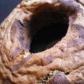 Couronne marbré chocolat-chocolat blanc