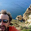 Jénorme au sommet du Cap d'Or, version Est (Espagne)