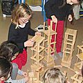 Ouest france : les élèves construisent des oeuvres éphémères - caouennec-lanvezeac