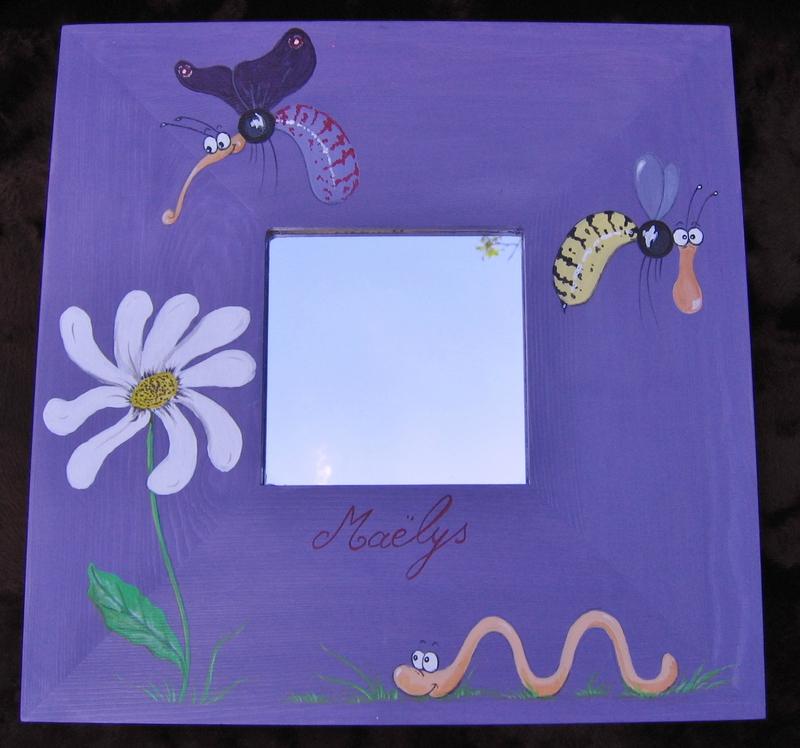 Insectes & fleur (Maëlys)