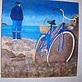 Pêcheur à vélo