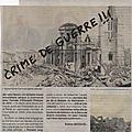 Colloque à l'hôtel-de-ville du havre, 7 septembre 2019: commemorer un crime de guerre?