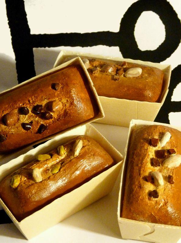 Petits cakes, détail