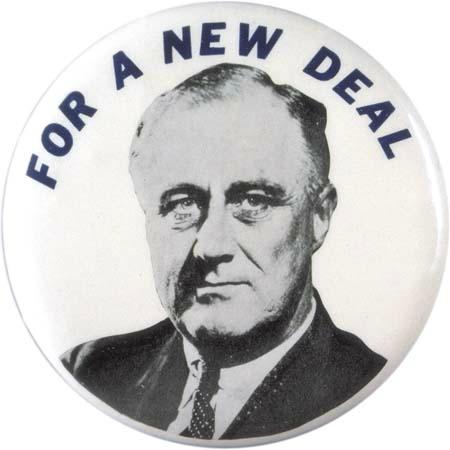 Franklin Roosevelt 's New Deal