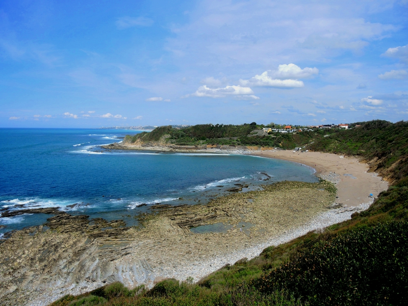 Guéthary, plage de Lafite