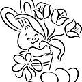 Le lapin de pâques 2020 de gateuxrigolo