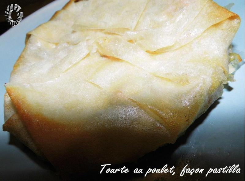 0906 Tourte au poulet, façon pastilla Couv