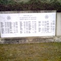 plaque (ossuaire)