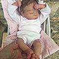 Bébé reborn brune, est adoptée :-)