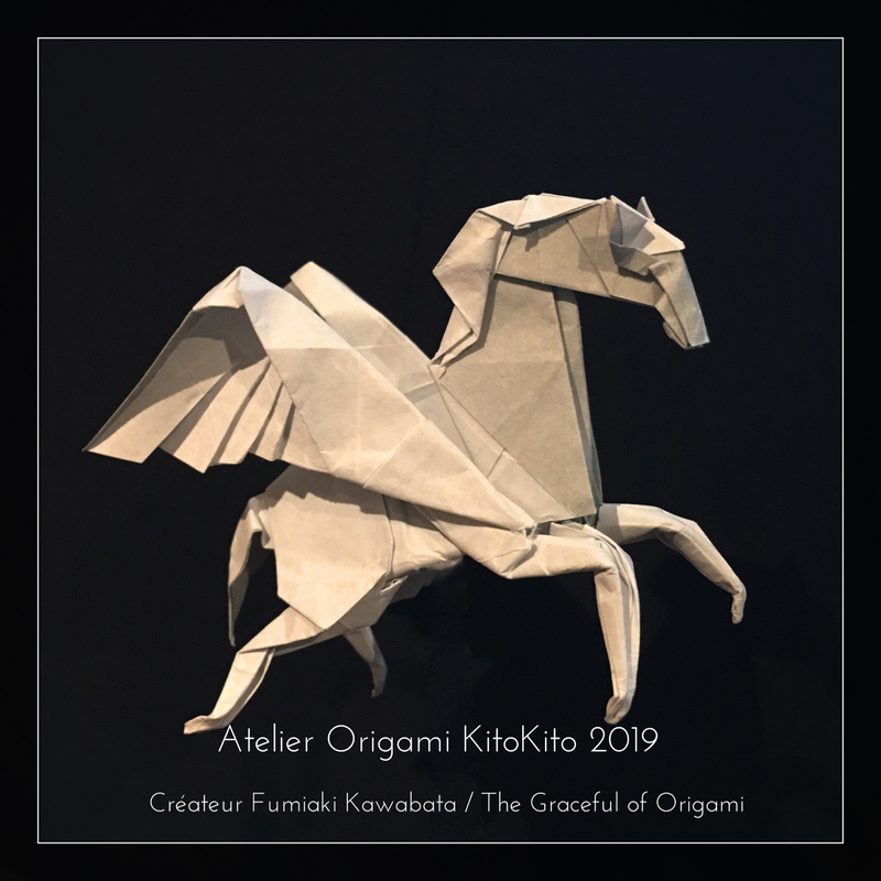 Atelier Origami KitoKito Pégase1