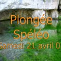 Spéléo avril 07