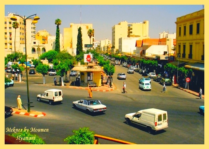 Meknes day traffic