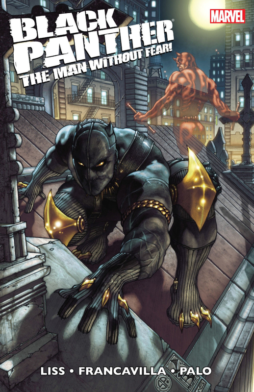 black panther the man without fear vol 01 urban jungle TP