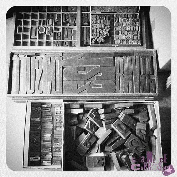 Atelier Typographie + Linogravure Graine de Carrosse 003