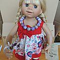 Gretel : poupée wichtel muller