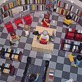 La bibliothèque municipale de stockholm en lego
