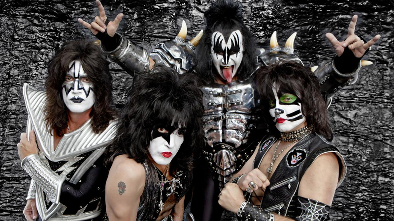 Canalblog Japon Anime Ken Le Survivant Brutes Glam Rock Metal Kiss
