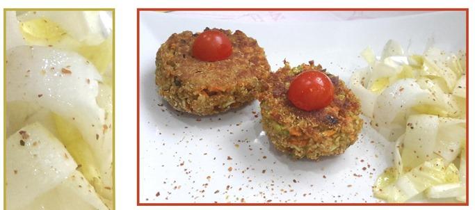 galettes de légumes aux flocons d'avoine0