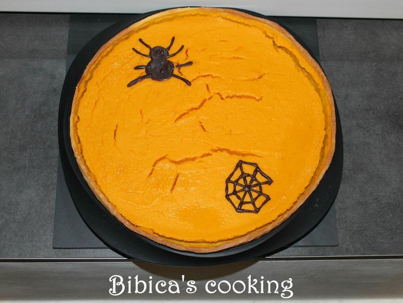 Pumpkin Pie – Tarte au potiron potimarron {recette légère} haut