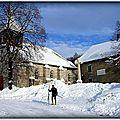 Sortie ski plateau de Retord (Ain)