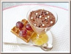 mousse au chocolat sans oeufs ni crème