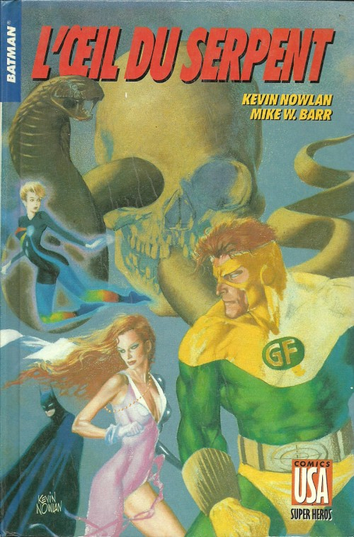 comics USA batman l'oeil du serpent