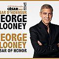 George clooney sera césarisé yessssssssss