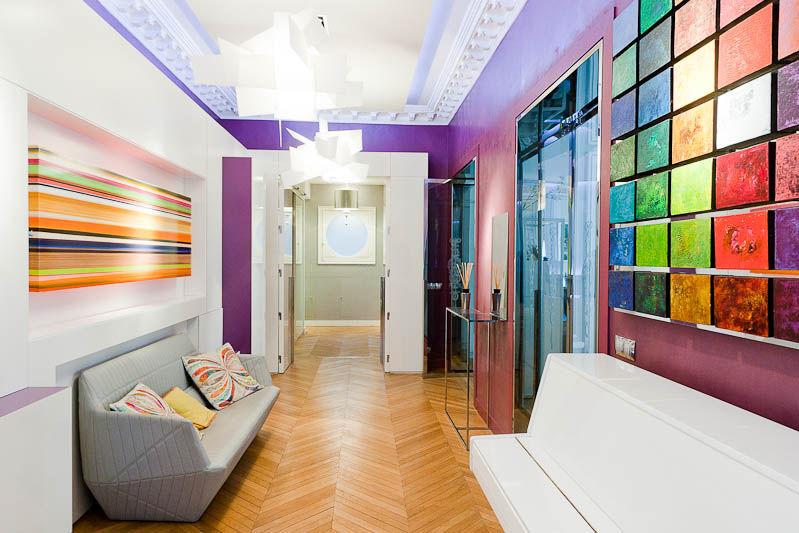 Un appartement haussmannien éblouissant - Sonia Saelens déco