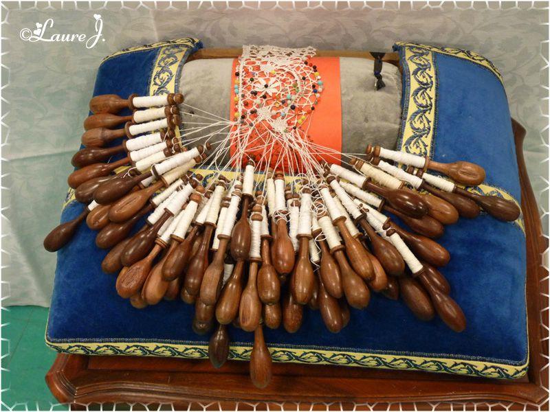 Au fil du Temps Compté st priest oct 2012 carreau de dentelliere