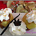 Pommes farcies à la crème de spéculos pralinée