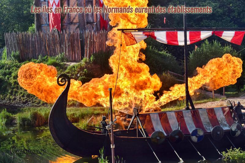 Les Iles en France où les Normands eurent des établissements