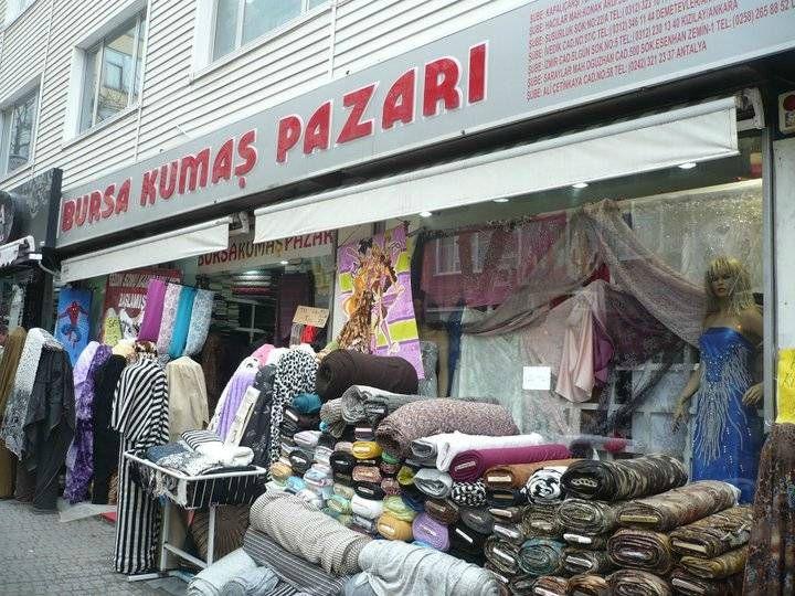 BURSA KUMAŞ PAZARI