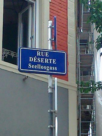 rue deserte strasbourg